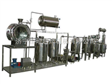 中試型超聲波提取機組500L中式超聲波中藥提取罐