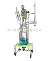GR-10双层玻璃反应釜的使用